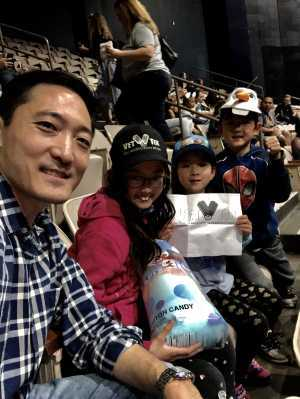 Steven attended Disney on Ice Presents Worlds of Enchantment - Ice Shows on Apr 18th 2019 via VetTix