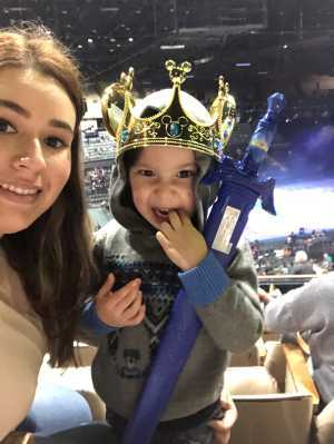 Yair attended Disney on Ice Presents Worlds of Enchantment - Ice Shows on Apr 18th 2019 via VetTix