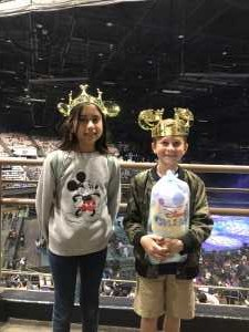 Marcela attended Disney on Ice Presents Worlds of Enchantment - Ice Shows on Apr 18th 2019 via VetTix