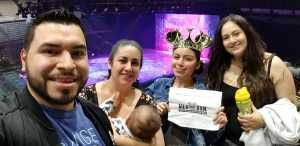 Joel attended Disney on Ice Presents Worlds of Enchantment - Ice Shows on Apr 18th 2019 via VetTix
