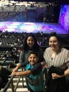 Carlos attended Disney on Ice Presents Worlds of Enchantment - Ice Shows on Apr 18th 2019 via VetTix