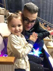 Dreux attended Disney on Ice Presents Worlds of Enchantment - Ice Shows on Apr 18th 2019 via VetTix