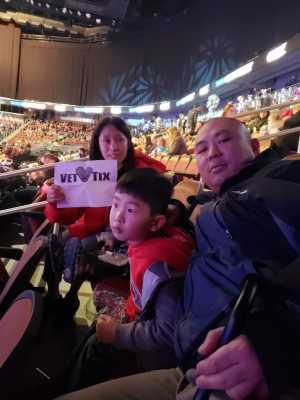 Min attended Disney on Ice presents: Dare to Dream on Mar 14th 2019 via VetTix