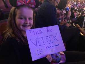 Benjamin attended Disney on Ice presents: Dare to Dream on Mar 14th 2019 via VetTix