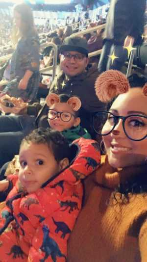 Krysthal attended Disney on Ice presents: Dare to Dream on Mar 14th 2019 via VetTix