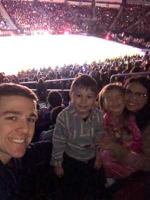 Charles attended Disney on Ice presents: Dare to Dream on Mar 14th 2019 via VetTix