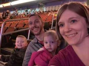 Andrew attended Disney on Ice presents: Dare to Dream on Mar 14th 2019 via VetTix