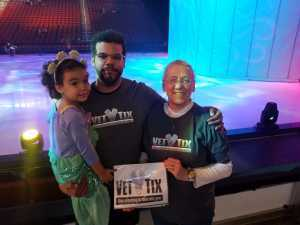 Sherri attended Disney on Ice presents: Dare to Dream on Mar 14th 2019 via VetTix