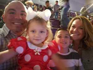 Almando attended Disney on Ice presents: Worlds of Enchantment on Mar 21st 2019 via VetTix