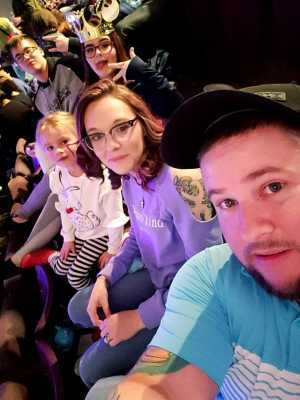 Ray attended Disney on Ice presents: Worlds of Enchantment on Mar 21st 2019 via VetTix