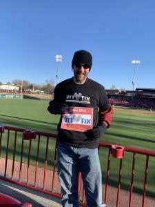 Sam attended South Carolina Gamecocks vs. Gardner-Webb - NCAA Baseball on Mar 6th 2019 via VetTix
