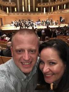 Allen attended National Philharmonic - a Tribute to Louis Armstrong on Mar 30th 2019 via VetTix