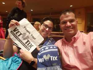 Anthony attended National Philharmonic - a Tribute to Louis Armstrong on Mar 30th 2019 via VetTix