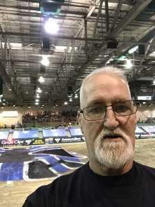 Mike attended Monster Jam on Mar 23rd 2019 via VetTix