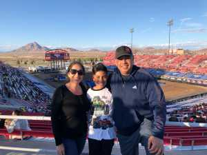 Garcia family. attended Monster Jam on Mar 23rd 2019 via VetTix