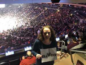 Jessica attended New York Knicks vs. Sacramento Kings - NBA on Mar 9th 2019 via VetTix