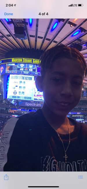 Darlene attended New York Knicks vs. Sacramento Kings - NBA on Mar 9th 2019 via VetTix