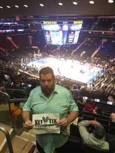 William attended New York Knicks vs. Sacramento Kings - NBA on Mar 9th 2019 via VetTix
