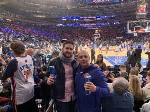 Julio attended New York Knicks vs. Sacramento Kings - NBA on Mar 9th 2019 via VetTix