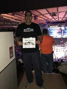 EDWIN attended New York Knicks vs. Sacramento Kings - NBA on Mar 9th 2019 via VetTix