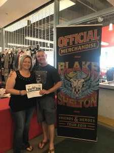 Joshua attended Blake Shelton Friends and Heroes Tour 2019 on Mar 9th 2019 via VetTix