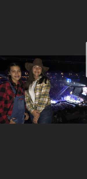 wilson attended Blake Shelton Friends and Heroes Tour 2019 on Mar 9th 2019 via VetTix