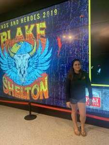 Denver attended Blake Shelton Friends and Heroes Tour 2019 on Mar 9th 2019 via VetTix
