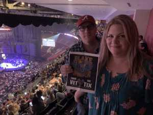 Rich attended Blake Shelton Friends and Heroes Tour 2019 on Mar 9th 2019 via VetTix