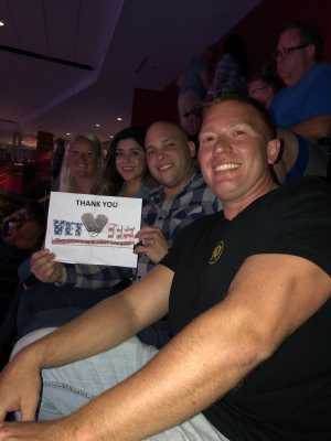 Johnny attended Blake Shelton Friends and Heroes Tour 2019 on Mar 9th 2019 via VetTix