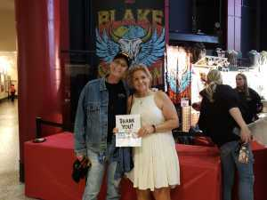 george attended Blake Shelton Friends and Heroes Tour 2019 on Mar 9th 2019 via VetTix