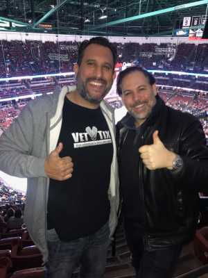 Raul attended Anaheim Ducks vs. Montreal Canadiens - NHL - Antis Roofing Community Corner on Mar 8th 2019 via VetTix