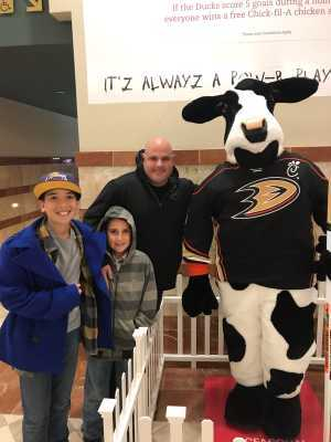 Peter attended Anaheim Ducks vs. Montreal Canadiens - NHL - Antis Roofing Community Corner on Mar 8th 2019 via VetTix