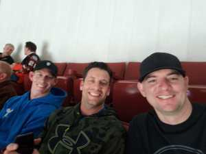 Evan attended Anaheim Ducks vs. Montreal Canadiens - NHL - Antis Roofing Community Corner on Mar 8th 2019 via VetTix