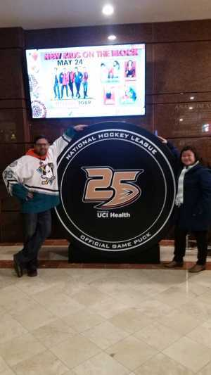 sev attended Anaheim Ducks vs. Montreal Canadiens - NHL - Antis Roofing Community Corner on Mar 8th 2019 via VetTix