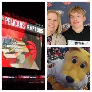 AGC Christie King attended New Orleans Pelicans vs. Toronto Raptors - NBA on Mar 8th 2019 via VetTix