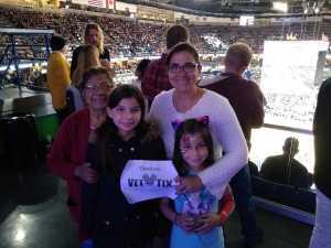Gabriela attended New Orleans Pelicans vs. Toronto Raptors - NBA on Mar 8th 2019 via VetTix