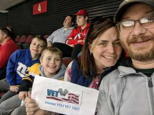 Victor attended New Jersey Devils vs. Boston Bruins - NHL on Mar 21st 2019 via VetTix