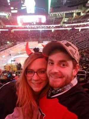 Domenico attended New Jersey Devils vs. Boston Bruins - NHL on Mar 21st 2019 via VetTix