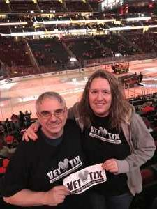 Donald attended New Jersey Devils vs. Buffalo Sabres - NHL on Mar 25th 2019 via VetTix