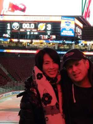 John attended New Jersey Devils vs. Buffalo Sabres - NHL on Mar 25th 2019 via VetTix
