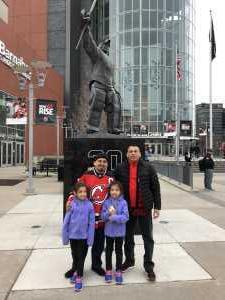 Paul attended New Jersey Devils vs. Buffalo Sabres - NHL on Mar 25th 2019 via VetTix