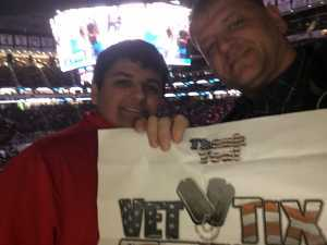 Martin attended New Jersey Devils vs. Buffalo Sabres - NHL on Mar 25th 2019 via VetTix
