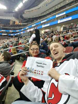 Joseph attended New Jersey Devils vs. Buffalo Sabres - NHL on Mar 25th 2019 via VetTix