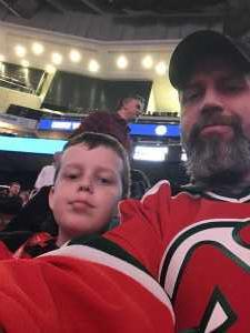 Matthew attended New Jersey Devils vs. Buffalo Sabres - NHL on Mar 25th 2019 via VetTix