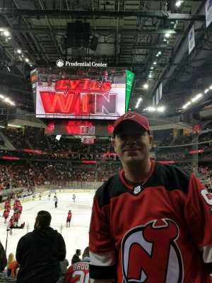 Scott attended New Jersey Devils vs. Buffalo Sabres - NHL on Mar 25th 2019 via VetTix