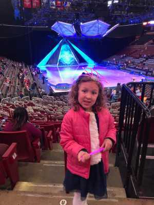 JARROD attended Disney on Ice Presents Frozen - Ice Shows on Apr 17th 2019 via VetTix