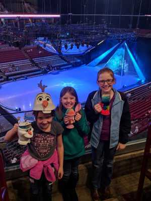 Travis attended Disney on Ice Presents Frozen - Ice Shows on Apr 17th 2019 via VetTix