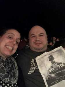 Oscar attended Kelly Clarkson the Meaning of Life Tour on Mar 7th 2019 via VetTix