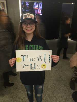 Daniel attended Kelly Clarkson the Meaning of Life Tour on Mar 7th 2019 via VetTix