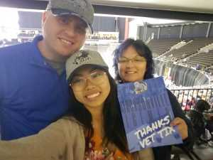 Justin attended Jacksonville Icemen vs. Atlanta Gladiators - ECHL on Mar 29th 2019 via VetTix